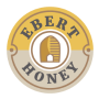 Ebert Honey Lynnville Mt Vernon Iowa badge logo