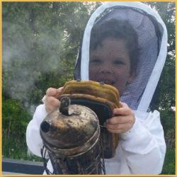 Ebert Honey beekeeper child