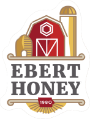 Ebert Honey Lynnville Mt Vernon Iowa footer logo