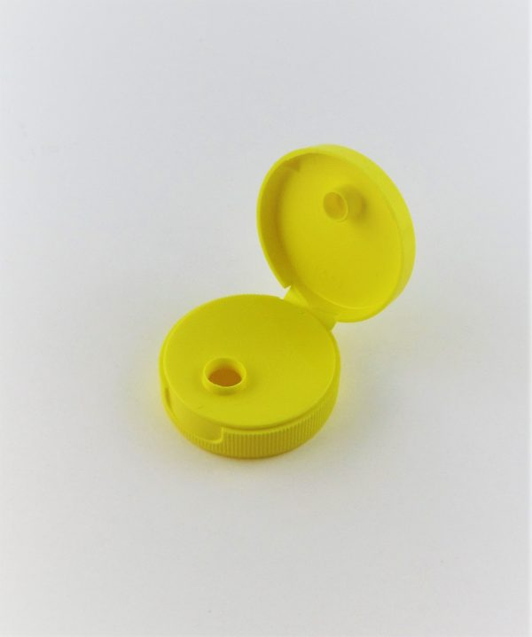 38 mm Yellow Snap Cap